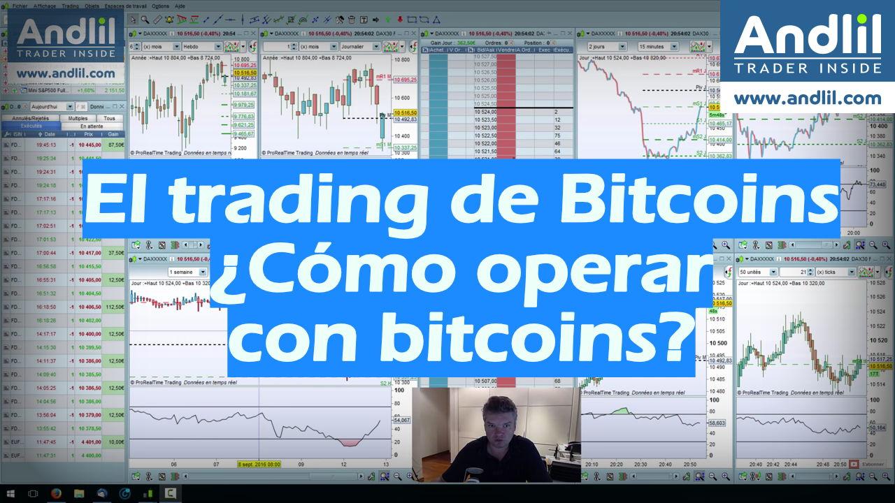 El trading de Bitcoins